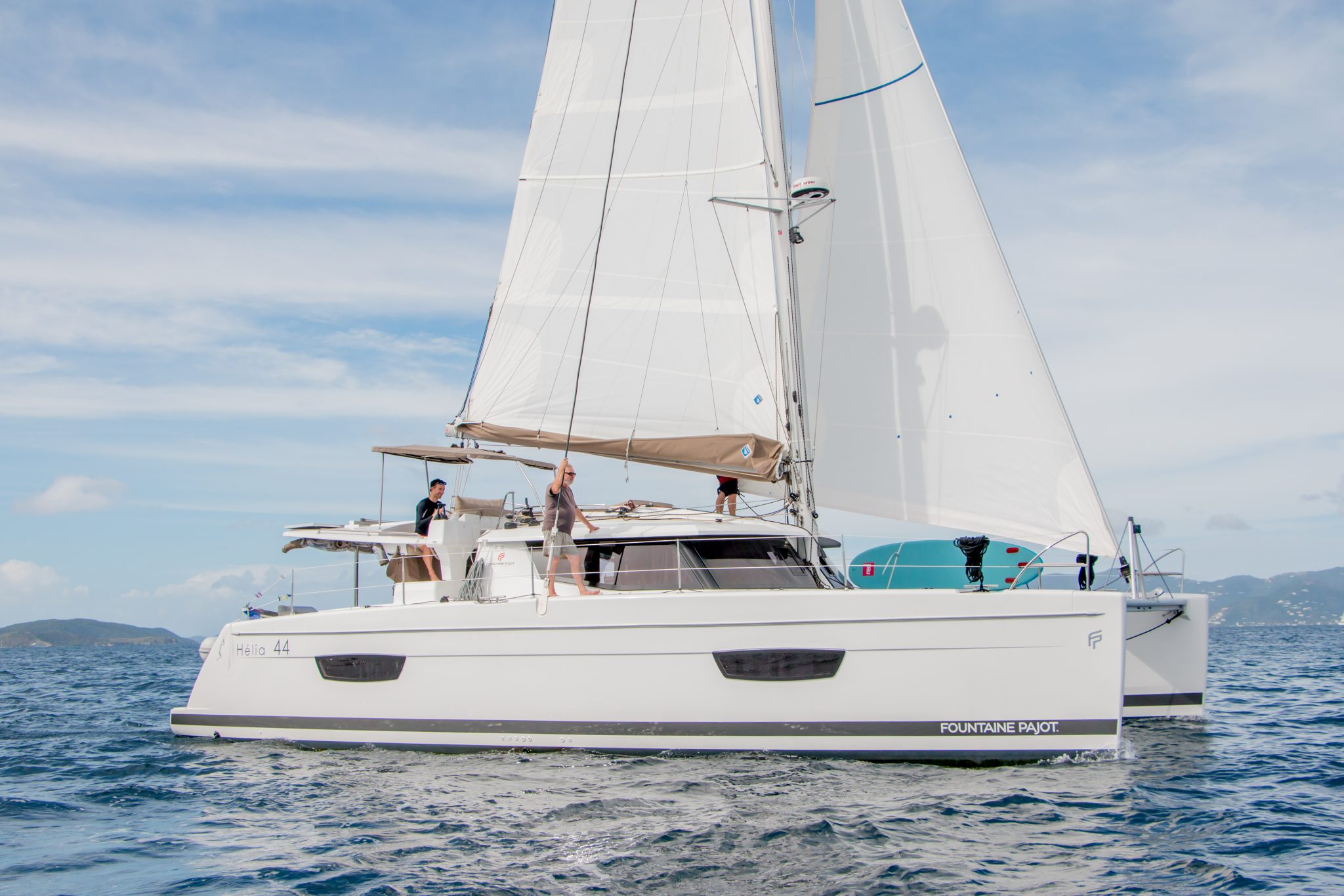 Sample Itinerary for your BVI Charter Experience