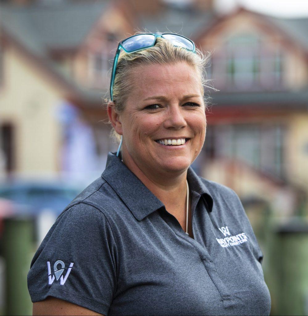Kirstie Palmer, President, Waypoints Yacht Charters