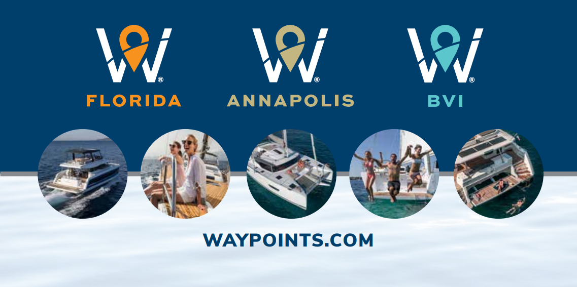 Waypoints Yacht Charters Hosting Launch Party October 15